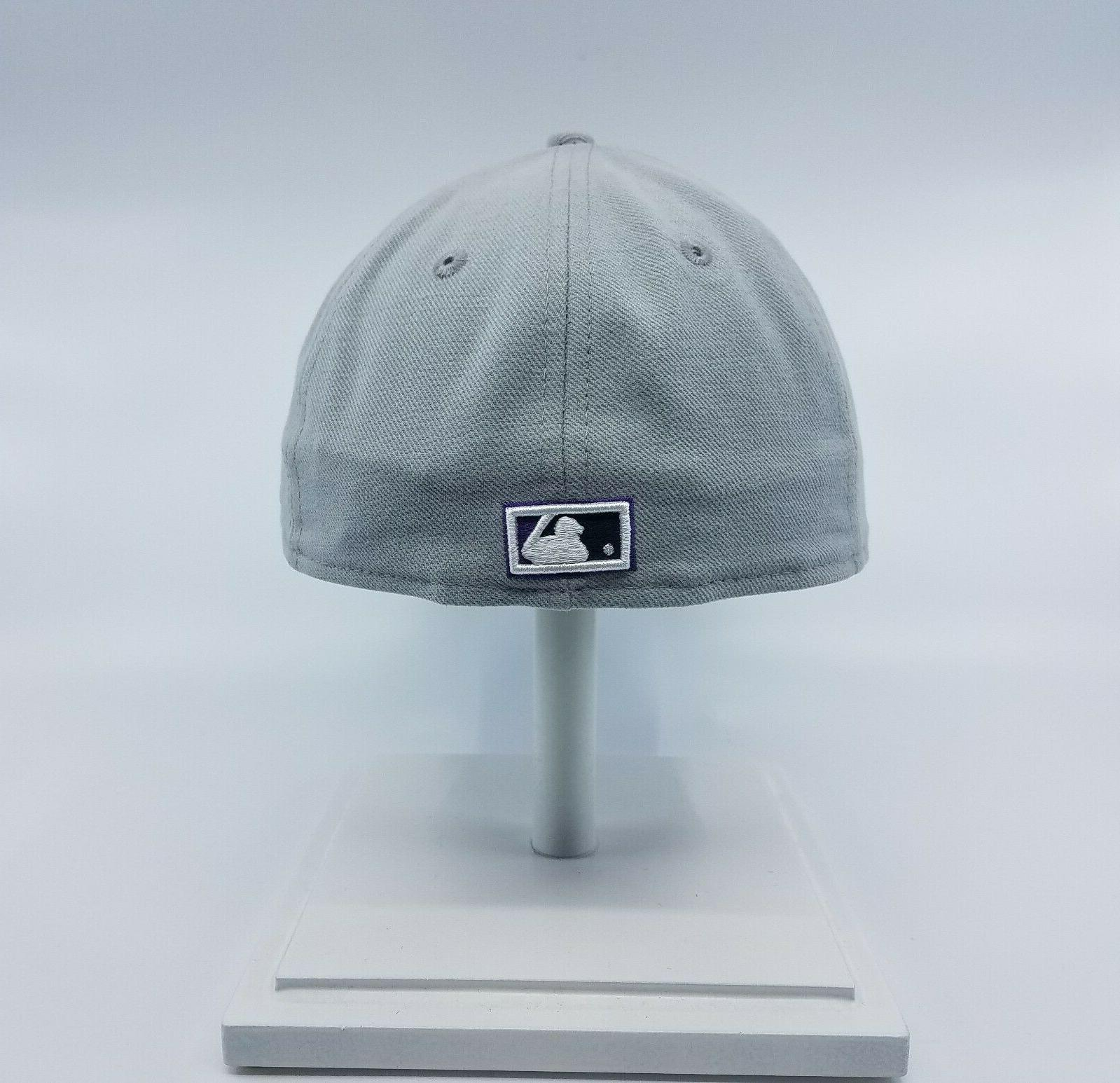 59FIFTY MLB FITTED BASEBALL CAP GREY NEW