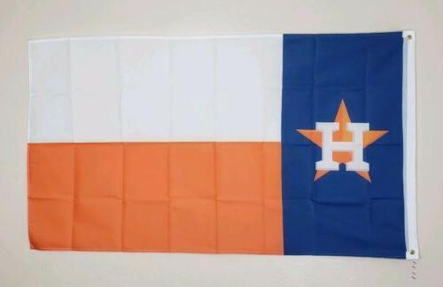 houston astros banner 3x5 ft flag man