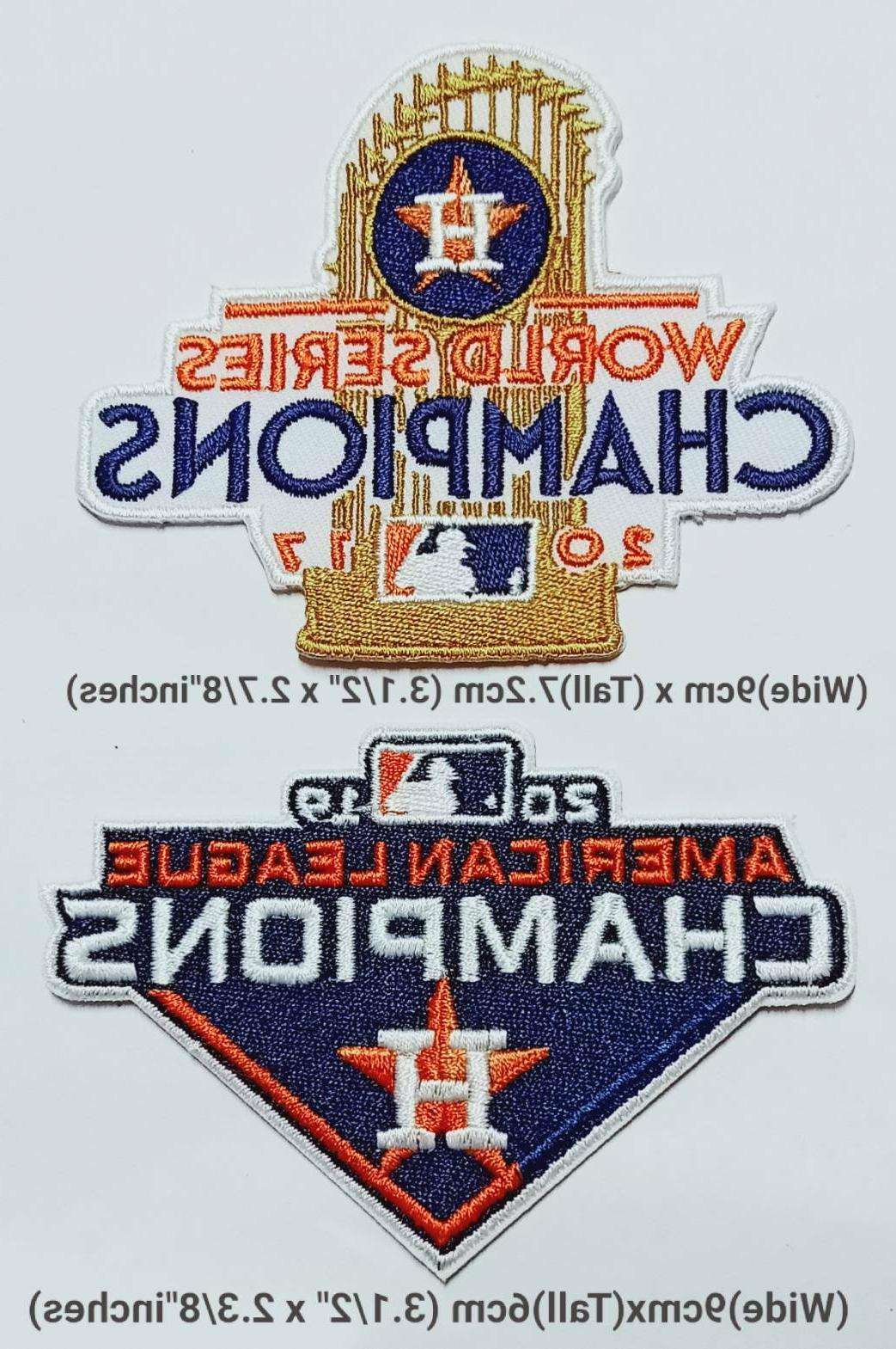 houston astros champion setbaseball sport logo patches