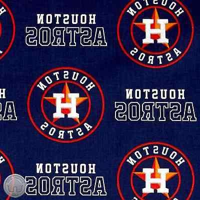 houston astros cotton mlb fabric 6682 b