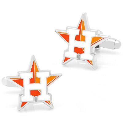 houston astros cufflinks officially licensed