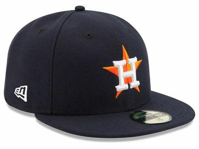 houston astros home 59fifty fitted hat navy