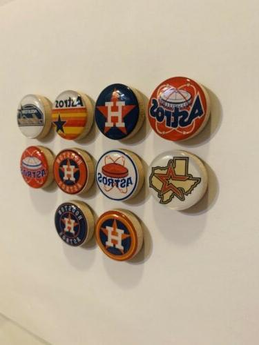 Houston Astros Magnets FREE SHIPPING
