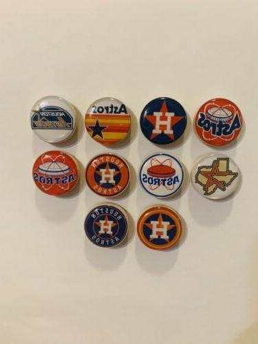 houston astros magnets set of 10 free