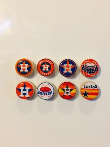 houston astros magnets set of 8 free