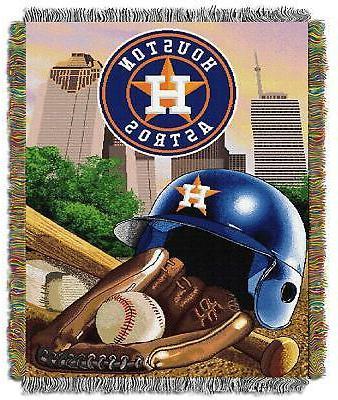 houston astros mlb 48 x60 vintage tapestry