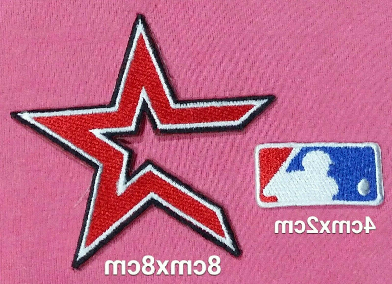 houston astros set baseball mlb logo patch