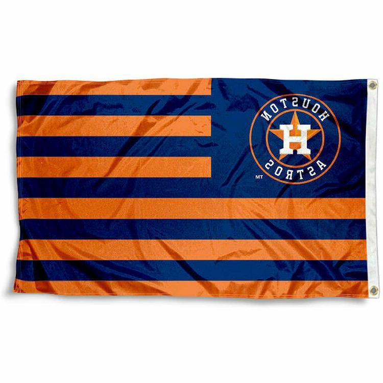 houston astros striped flag 3 x5 fast