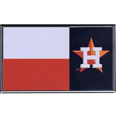 houston astros texas flag aluminum