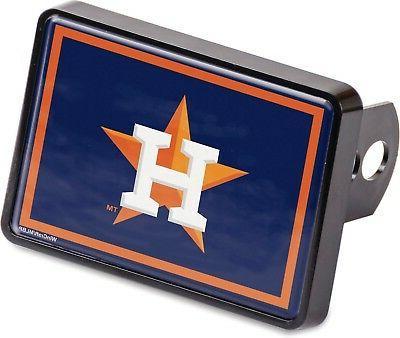 houston astros universal hitch cover color bumper