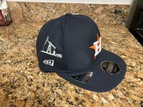 Houston Astros Texas Icon Baseball Snapback Cap