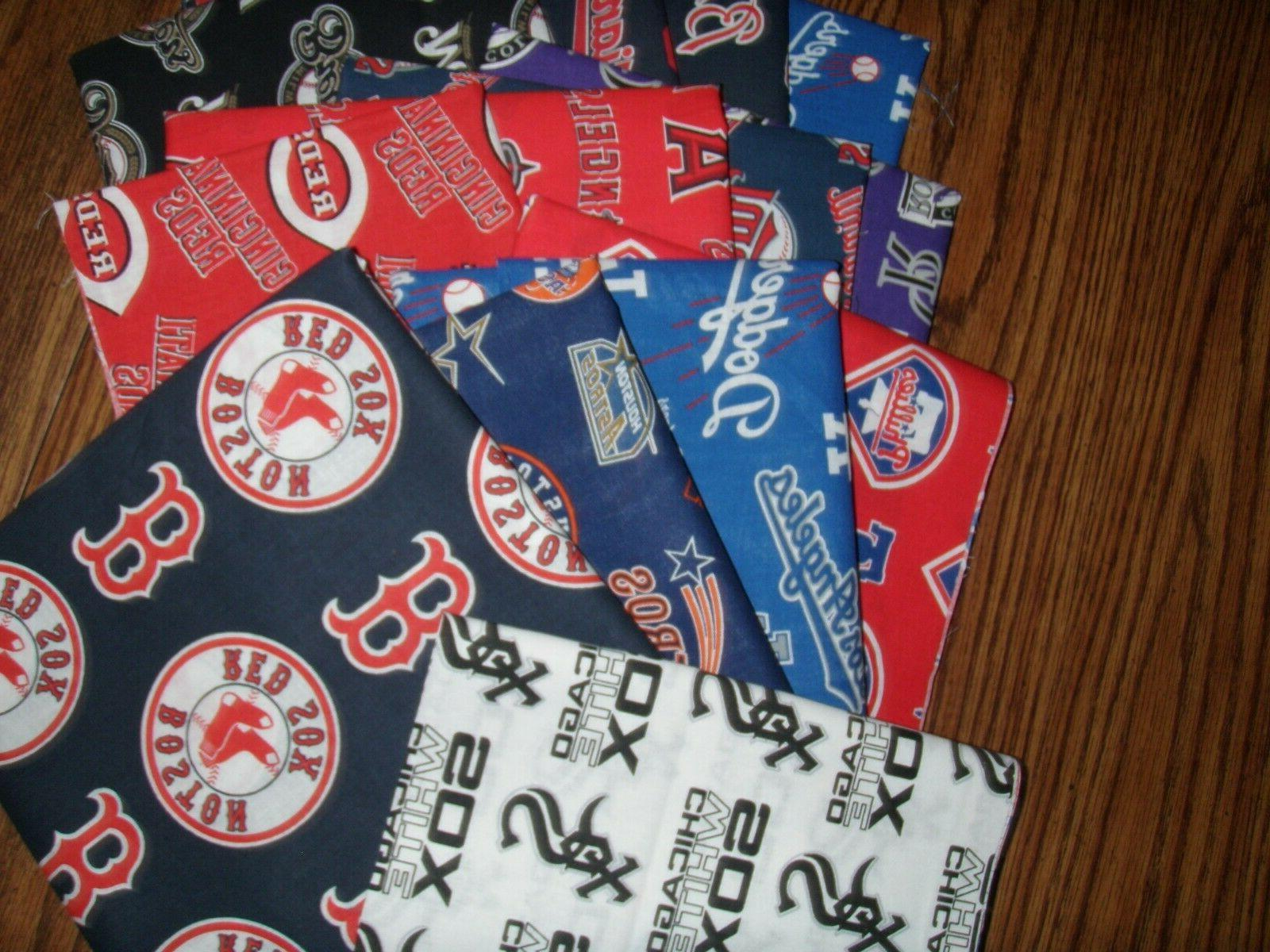 mlb baseball cotton fabric by the 1