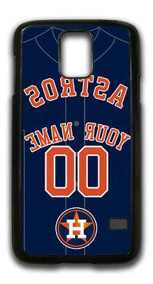 MLB Houston Astros Personalized Name/Number Samsung Phone Ca
