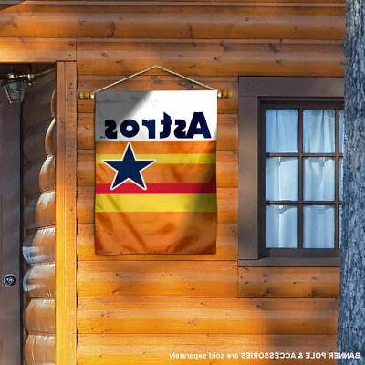 MLB Houston Throwback Vintage House Flag and