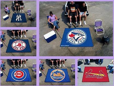 mlb licensed 5 x6 tailgater area rug