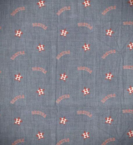 new houston astros mlb baseball chambray 100