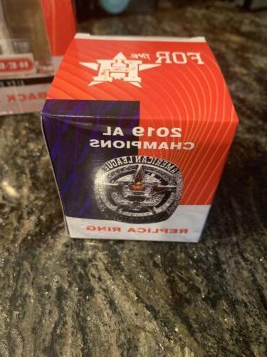 Rare Houston Bobblehead ALCS Ring Bundle Head
