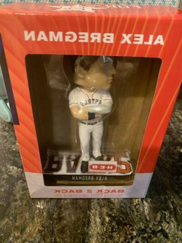 Rare and Houston Astros Bobblehead ALCS Ring Bundle Head