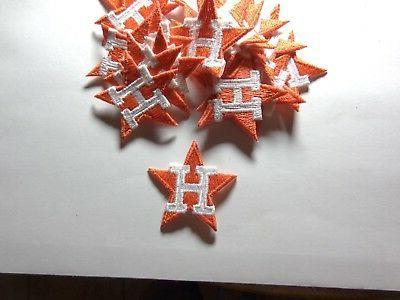 vintage houston astros star paches 20 pcs
