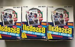 Lot Of 3 1988 Fleer Baseball Wax Boxes - 108 Total Packs
