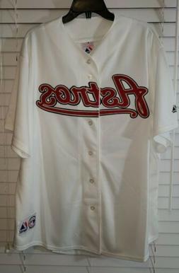 Men's Houston Astros Majestic Adult White Baseball Jersey XX