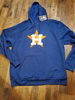 Men's XL HOUSTON ASTROS - Blue Hoodie Sweatshirt X-Large NEW