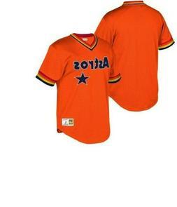 Mitchell & Ness Houston Astros Baseball Jersey New Mens Size