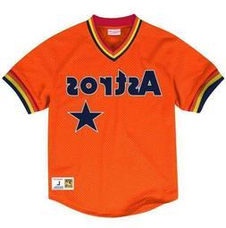 MITCHELL & NESS MLB Houston Astros Orange BATTING PRACTICE M