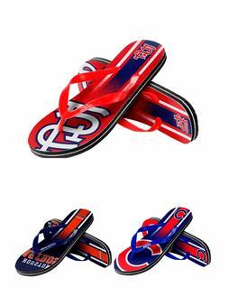 MLB Baseball Team Logo Gradient Unisex Thong Flip Flops - Pi