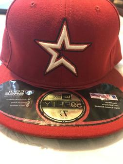 mlb fitted hats 7 1/2 houston astros brand new official on f