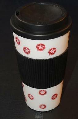 MLB Houston Astros 16 Oz Plastic Tumbler Travel Cup Hot/Cold