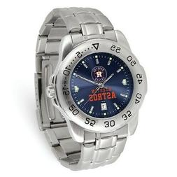 MLB Houston Astros Mens Sport Steel Watch Style: XWM3495 $79