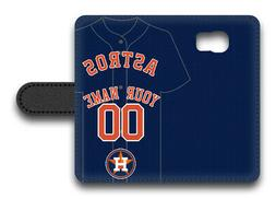 MLB Houston Astros Personalized Name/Number Samsung Phone Wa