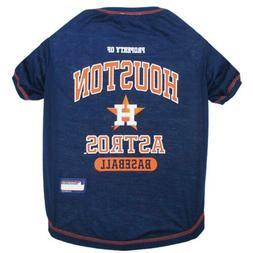 MLB PET Apparel. - Licensed Baseball Small Shirt for Pets, H
