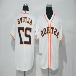 NEW Houston Astros #27 Jose ALTUVE  Home White Jersey  Most
