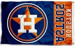 NEW Houston Astros MLB Baseball Large 3x5 Flag Banner FREE S
