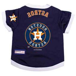 NEW HOUSTON ASTROS PET DOG PREMIUM MLB ALTERNATE JERSEY w/NA