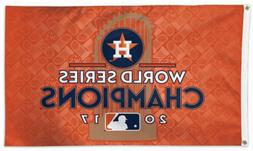 NEW Houston Astros World Champions MLB 3x5 Official Polyeste