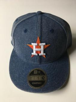 New Mens Authentic Houston ASTROS Designer Baseball Blue Jea