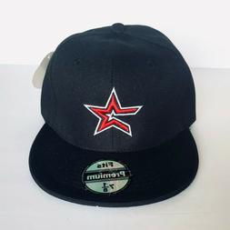 NEW Mens Houston Astros Baseball Cap Fitted Hat Multi Size B