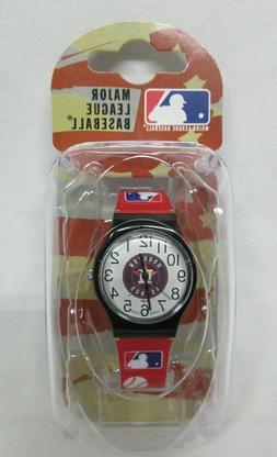 NEW NIB J.V. BOYS KIDS HOUSTON ASTROS LOGO WATCH MLB FAN GAM