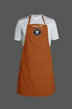 Personalized MLB Houston Astros BBQ Chef Apron One Size Cook