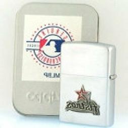 Rare Retired Iconic Houston Astros Zippo Lighter
