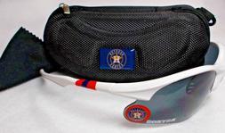 Read Listing! Houston Astros 3 PC SET! White Blade Sunglasse