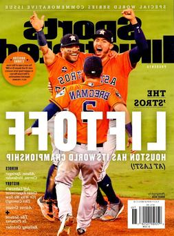 Sports Illustrated Magazine 2017 World Series Champions Cove