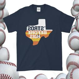 Stros Before Hoes T-Shirt Houston Astros
