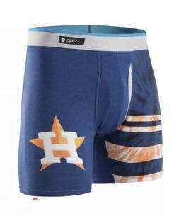 Stance The Basilone Mens Boxer Briefs Underwear Houston Astr