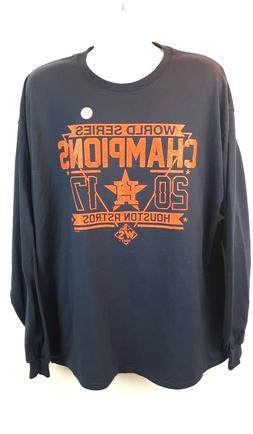 World Series Champs Houston Astros Men's 2XL Long Sleeve T-S